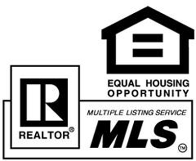 Equal Housing Opportunity logo with REALTOR and MLS
