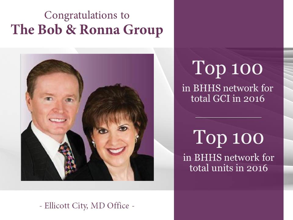 Top 100- 2016 Bob and Ronna