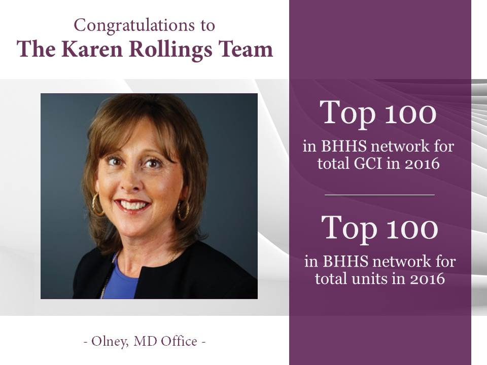 Top 100- 2016 Karen Rollings